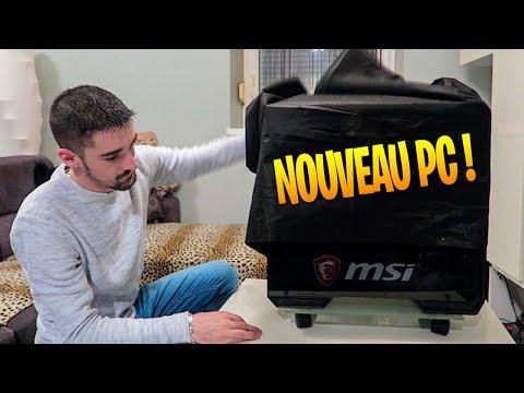 NOUVEAU SETUP ? MON NOUVEAU PC GAMER !!