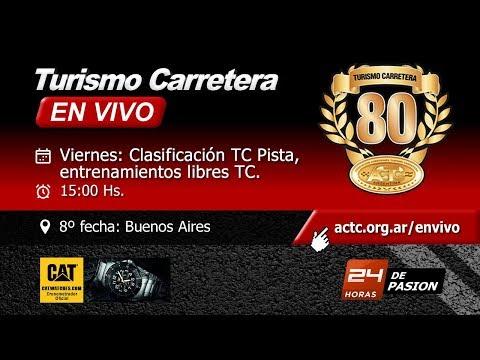 TC -Entrenamiento TC y clasificación TC Pista
