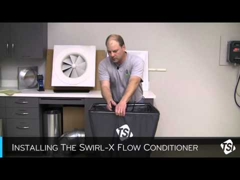 Installing the Swirl-X Flow Conditioner