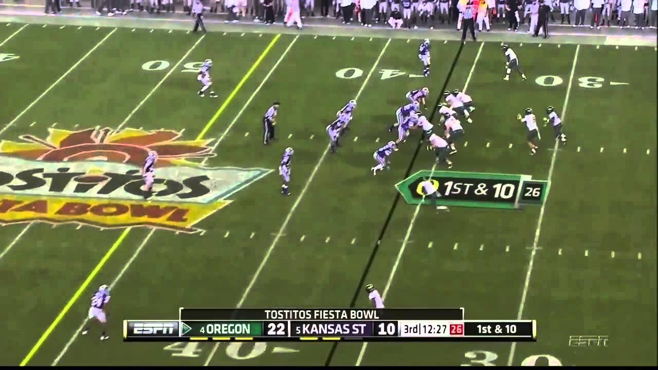 Kenjon Barner vs Kansas State (2012 Bowl)