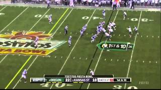 Kenjon Barner vs Kansas Stat