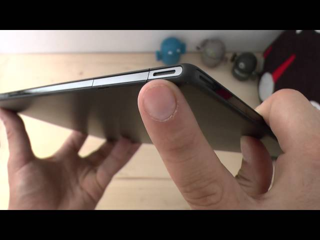 Xperia Tablet Z video Unboxing e Panoramica