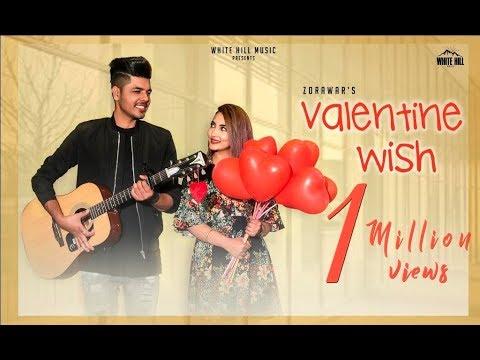 Valentine Wish (Full Video) Zorawar - Sameer Pannu - Cheetah - Punjabi Songs 2018 - White Hill Music (видео)