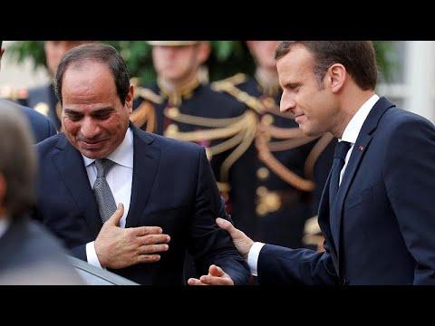 Ägypten: Macron will bei Staatsbesuch millionenschwer ...