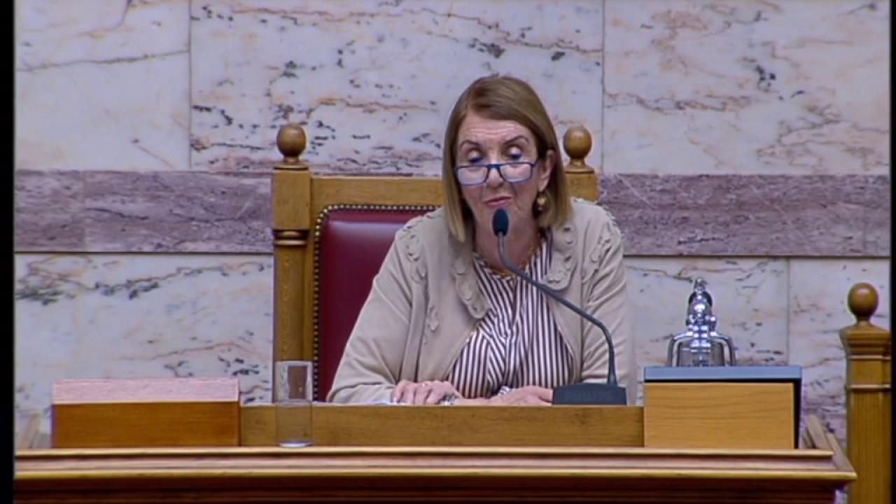Τ.Χριστοδουλοπούλου(Γ! Αντιπρόεδρος Βουλής)( Διεθνής ημέρα κατά της ομοφοβίας)(17/05/2017)