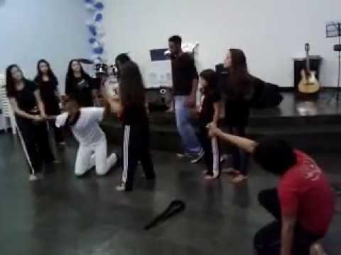 Pantomima na igreja congregacional Senador Modestino Gonçalves