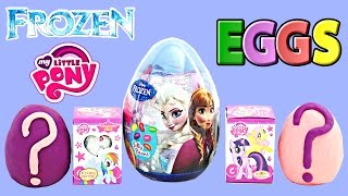 2015 Easter Eggs Disney Frozen, My Little Pony and Play Doh Mystery Surprise Eggs. Surprise Easter Eggs Disney Princess Play Doh Eggs and Blind Box ...