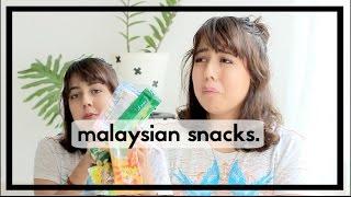 Video TRYING MALAYSIAN SNACKS! MP3, 3GP, MP4, WEBM, AVI, FLV November 2018