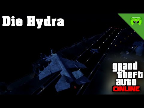 GTA ONLINE # 89 - Die Hydra «» Let's Play Grand Theft Auto Online | 60HD