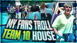 Video Jake Paul Trolled By My Fans at Team 10 House MP3, 3GP, MP4, WEBM, AVI, FLV Agustus 2017