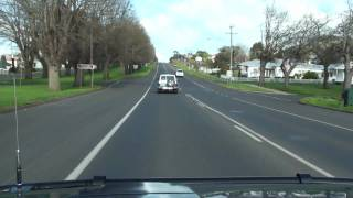 Camperdown (VIC) Australia  City pictures : Camperdown Driving Eastbound - Victoria