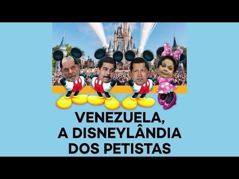 Venezuela, a Disneylândia de Lula, Dilma e do PT
