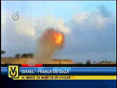 Israel intensifica bombardeos en Gaza y palestinos los disparos de cohetes