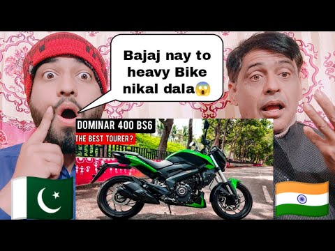 Bajaj Dominar 400 Bs6 Detail Review Reaction By|Pakistani Family Reactions|