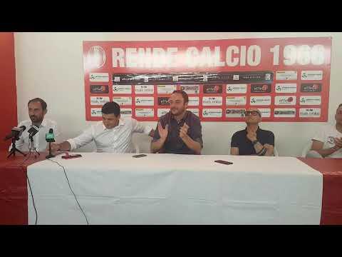 """Calcio, Lega Pro. Il Rende presenta il tecnico, inizia l'era Andreoli: """"Determinato a fare bene"""""""
