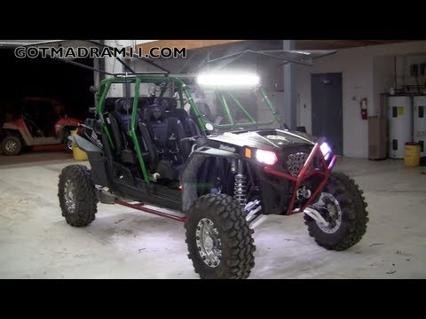 INCREDIBLE 4 SEATER TURBO'D RZR XP