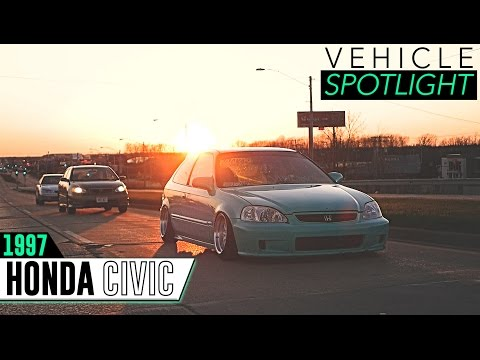 Fitment Inc Spotlight - 1997 Honda Civic, 15x8 -0 JNC 003 & Function Form Coilovers