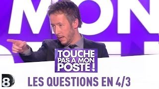 Video Les questions en 4/3 de Jean-Luc Lemoine -  TPMP - 15/05/2014 MP3, 3GP, MP4, WEBM, AVI, FLV September 2017