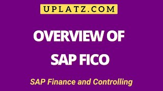 Overview | SAP FICO | SAP Finance and Controlling Online Tutorial & Certification Training Course