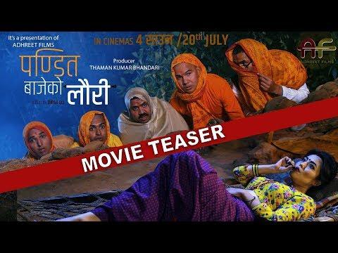 "(New Nepali Movie -""Pandit Bajeko Lauri"" Official Teaser    Prabin, Sandhya, Mariska, Bijay - Duration: 61 seconds.)"