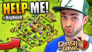 "Clash of Clans - I AM A BIG  NOOB! Help me out! :D► Find ALL my Clash of Clans videos here - https://www.youtube.com/playlist?list=PLZ53q68oHkKZR0QMhs3_hOv_ZoRt4G3itEnjoyed the video? Hit 👍 ""LIKE"" 👍 - Thank you!Hey there - I'm Ali-A! Thanks for watching one of my videos! :) This is my channel where I play ANY games I'm having fun playing to share with YOU all. Make sure you're checking out more of my videos and ""SUBSCRIBE"" to be notified every time I upload. Thanks - Enjoy the video! :D► NEW Ali-A Merch!• Store - http://AliAShop.com► Follow me!• Facebook - http://facebook.com/AliAarmy• Twitter - http://www.twitter.com/OMGitsAliA• #AliAapp (iOS) - http://tinyurl.com/9u5h3d8 • #AliAapp (Android) - http://tinyurl.com/bz8kjbs• Host your own Minecraft servers here:http://gizmoservers.com (""AliA"" 20% off)• Cheapest games - https://www.g2a.com/r/AliA• The headset I use - http://bit.ly/1dXHELh• How I record ALL my gameplay:http://e.lga.to/aSubscribe for more videos!- MoreAli-A---Video uploaded & owned by Ali-A! (PG, Family Friendly + No Swearing!)"