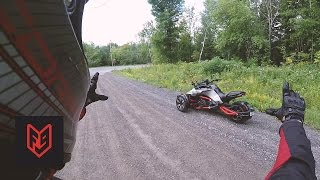 3. Can-Am Spyder F3-S First Ride & Impressions