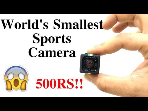 World's Smallest Sports Camera | Sq 11 Mini Dv | Hindi