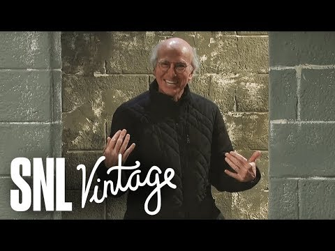 Larry David loses it as Kevin Roberts in behind the scenes SNL skit