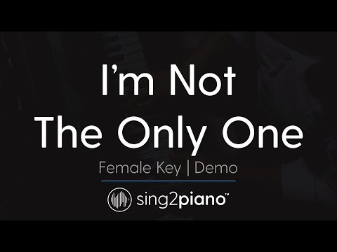 I'm Not The Only One (Female Key - Piano Karaoke Demo) Sam Smith Mp3
