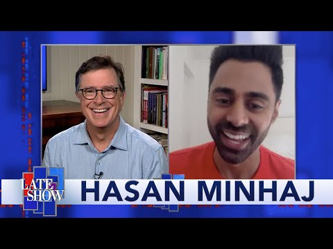 Hasan Minhaj: Think Of Masks As Bumper Stickers For Your Face
