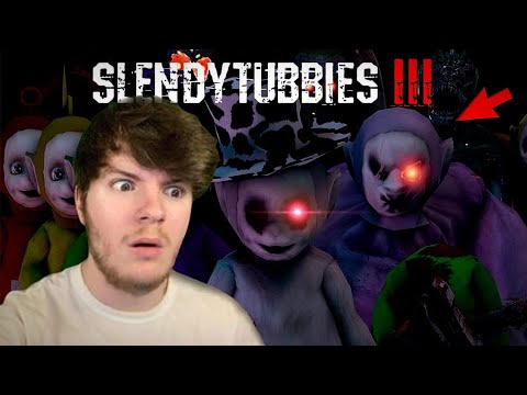 TELETUBBIES SHOULD NOT BE THIS SCARY | SLENDYTUBBIES 3 #4