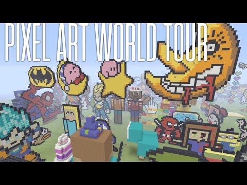 Download Top 10 Pixel Art Minecraft Video 3GP Mp4 FLV HD Mp3