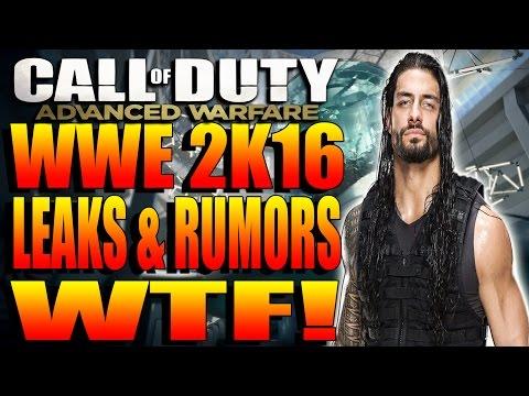 "ADVANCED WARFARE - ""AMR9-BANGER"" WRECKAGE | WWE 2K16 LEAKS NEWS & RUMOURS EXPOSURE WTF + MEAN TWEETS"