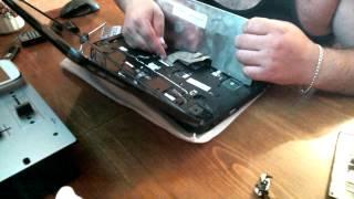 Разборка ноутбука Emachines E430