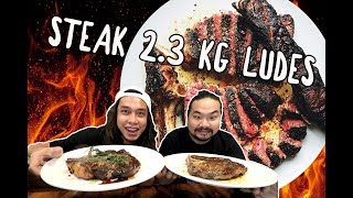 Video GILA! 2,3 KG Daging Ludes! 1kg Porterhouse + 1kg ribeye + 300gr Smoked Brisket ft. Nex Carlos MP3, 3GP, MP4, WEBM, AVI, FLV Januari 2019