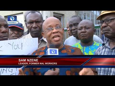 Defunct Nigeria Airways Pensioners Protest Non-Payment Of Pensions |Aviation This Week|