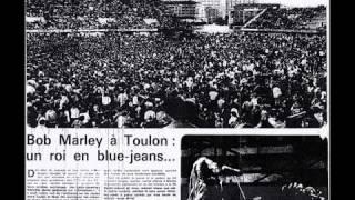 Bob Marleyà Toulon Au Stade Mayol Le 26 Juin 1980 !