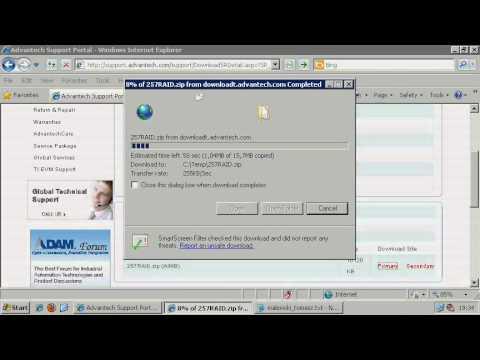 HOW TO: Install AHCI RAID Driver Under Windows XP on AIMB-780, Advantech(EN)