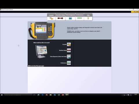 Connecting a Fluke 810 Vibration Analyzer to a PC