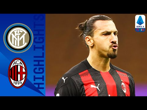 Inter 1-2 Milan | Zlatan Double Seals Derby! | Serie A TIM