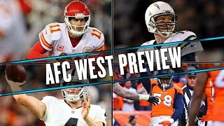 2016 AFC WEST PREVIEW: Raiders win the division, Broncos miss playoffs | Uffsides by SB Nation