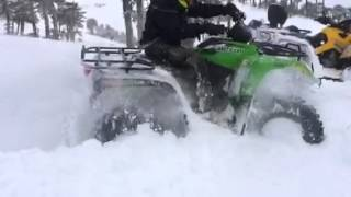 9. Arctic cat 1000 XT 2014  Lodge Nevados de Sollipulli