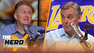 Michael Rapaport defends Westbrook's playing style, says Lakers have 'no identity' | NBA | THE HERD