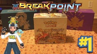 Our 1st Booster Box Opening Together!!!! Breakpoint HYPE!!!! by Demon SnowKing