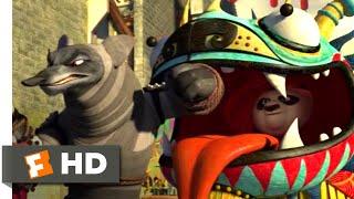 Kung Fu Panda 2 (2011) - Dragon Costume Fight Scene (3/10) | Movieclips
