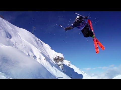 Red Bull Linecatcher 2013 in Cirque de Fond Blanc des Arcs