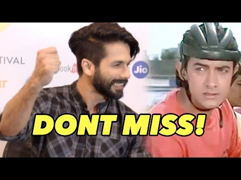 Don't Miss: Shahid Kapoor Enacts Aamir Khan From J