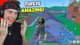 i actually played strucid fortnite... (better than fortnite)