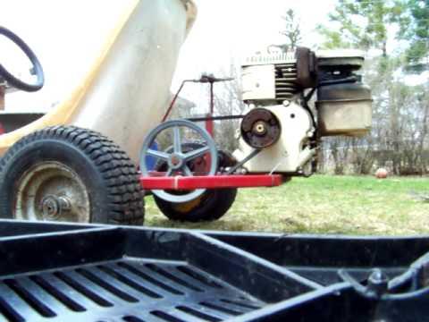 homemade go kart / B&S 5HP coldstart