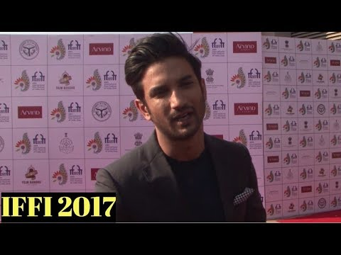 Sushant Singh Rajput Attends Red Carpet At IFFI 2017 Closing Ceremony